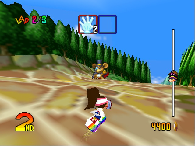 Snowboard Kids 2 - Bastard stole mah moneh, I WANT IT BACK! - User Screenshot