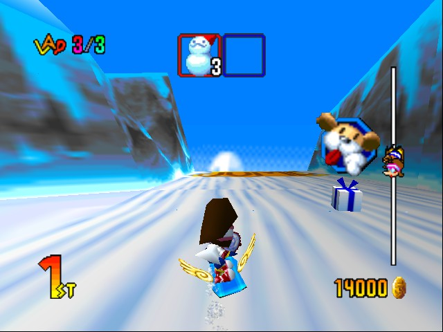Snowboard Kids 2 - Wings + Big Jump = INCREDIBLE TRICKS! - User Screenshot