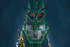 Bionicle Heroes - Cut-Scene  - Big scary face! - User Screenshot
