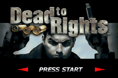 Dead to Rights - Introduction  -  - User Screenshot