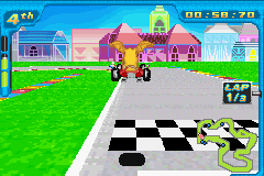 Digimon Racing - Level  - You can jump in this game?! - User Screenshot