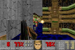 Doom II - Level 2 -  - User Screenshot