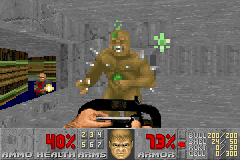 Doom II - Level 2 - Look at me, I