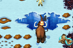 Ice Age 2 - The Meltdown - Level 2 - This level is just one big tutorial! - User Screenshot