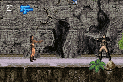 Lara Croft Tomb Raider - Legend - Level 2 - Finally, an enemy to fight! Sheesh! - User Screenshot