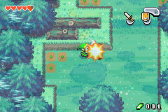 The Legend of Zelda - The Minish Cap (demo) - Level  -  - User Screenshot