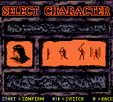 Mummy Returns - Character Select  -  - User Screenshot