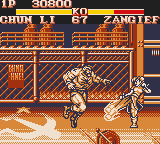 Street Fighter II - Level 2 - Lightning Kick! - User Screenshot