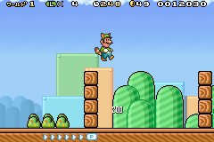 Super Mario Advance 4 - Super Mario 3, Mario Brothers - Level 1-3 -  - User Screenshot