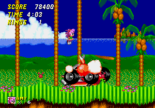 Amy Rose in Sonic the Hedgehog 2 - Level Act 3 - PWNED!!! - User Screenshot