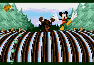 Mickey Mania - The Timeless Adventures of Mickey Mouse - Level 4 - Something wrong here! - User Screenshot