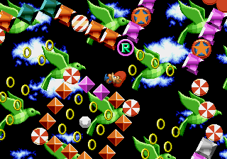 Sally Acorn in Sonic the Hedgehog - Mini-Game Special Stage 1 -  - User Screenshot