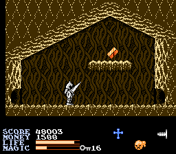 Ironsword - Wizards & Warriors II - Level 2-2 - The second Ironsword piece - User Screenshot