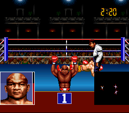 George Foreman K.O. Boxing - Level 2 - WINNER!!! - User Screenshot