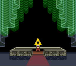 Legend of Zelda, The - A Link to the Past - haha! the triforce is mine! - User Screenshot