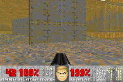 Doom II - WTH this wall wasnt in the pc port at MAP03 - User Screenshot
