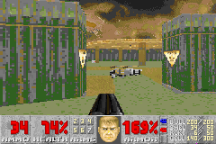 Doom II - i think this is a console style port - User Screenshot