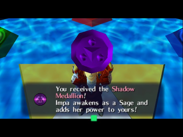Legend of Zelda, The - Ocarina of Time - Master Quest - Shadow - User Screenshot