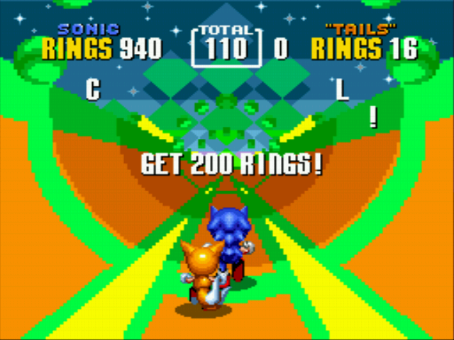 Sonic the Hedgehog 2 - sonic has 940 rings! Psych!! - User Screenshot