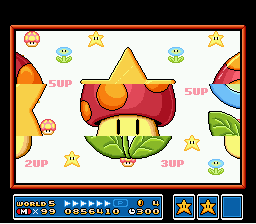 Super Mario All-Stars  Super Mario World - king of shrooms - User Screenshot