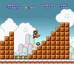 Super Mario All-Stars - the beetle tip!!! - User Screenshot