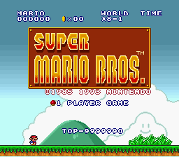 Super Mario All-Stars - the highest score possible!!!! - User Screenshot