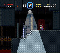 Super Mario World - Level  - the highest score possible!!!! - User Screenshot
