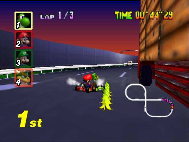 Mario Kart 64 - epic win - User Screenshot