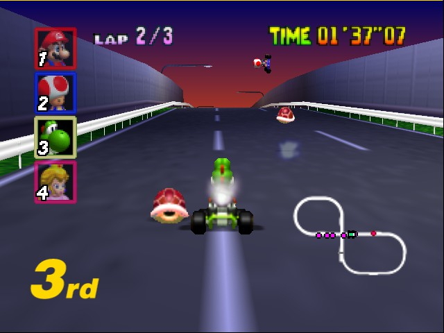 Mario Kart 64 - everyone hates toad ;D - User Screenshot