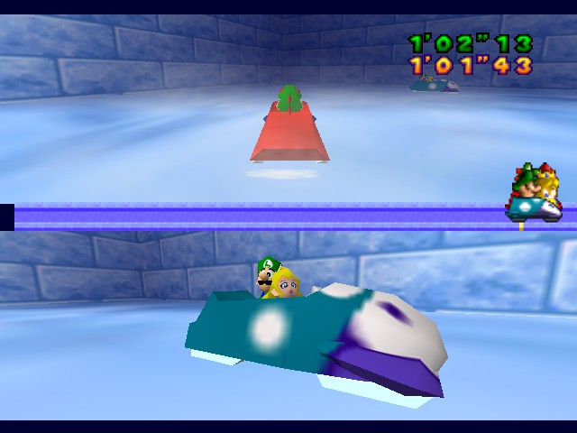 Mario Party - Wait... WTF are Peach and Luigi doing? - User Screenshot