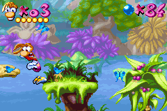 Rayman Advance - a butterfly!!! - User Screenshot