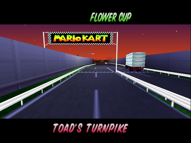 Mario Kart 64 - Level Toad - Where