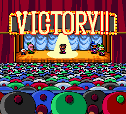 Bomberman (blue) -Gameover :Black bomberman wins - User Screenshot
