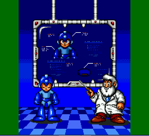 Mega Man - The Wily Wars - Learn!!!!!!!!!!!! There will be a test!!! - User Screenshot
