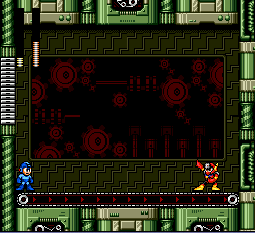 Mega Man - The Wily Wars - me vs. metal man ( I f***ed up) - User Screenshot