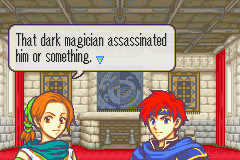Fire Emblem - Fuuin no Tsurugi (english translation) - Darn you Yugi! - User Screenshot