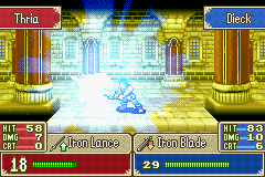 Fire Emblem - Fuuin no Tsurugi (english translation) - Boom goes the dynamite. - User Screenshot