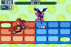 Mega Man Battle Network 6 Cybeast Gregar - Charge Beast! - User Screenshot