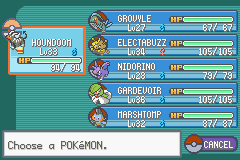 Pokemon Fire Red Omega - Half way done! =) After 4 gyms - User Screenshot