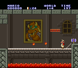 Super Mario All-Stars - Mario is the final boss! - User Screenshot