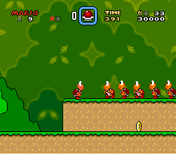 Super Mario World - ... What the heck? - User Screenshot