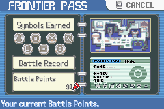 Pokemon Emerald 386 - Got all the silver symbols - User Screenshot