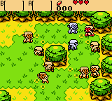 Zelda - Oracle of Ages - No,Not the monkeys! - User Screenshot