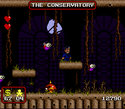 The Addams Family - Level  - Some nice looking sprites - User Screenshot