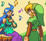Zelda - Oracle of Ages - beginning of the adventure - User Screenshot