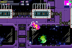 Metroid Fusion - screw attake!!!!!! battle - User Screenshot