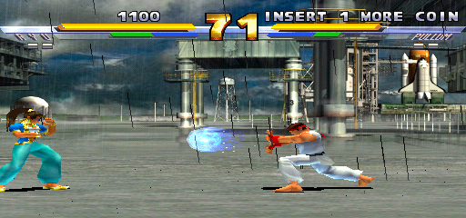 Street Fighter EX 2 Plus (USA 990611) - Level  -  - User Screenshot