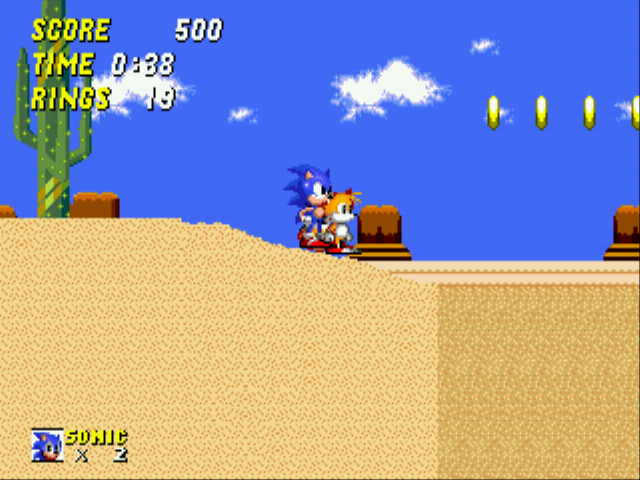 Sonic 2 - The Lost Worlds - Quicksand: 10! - User Screenshot