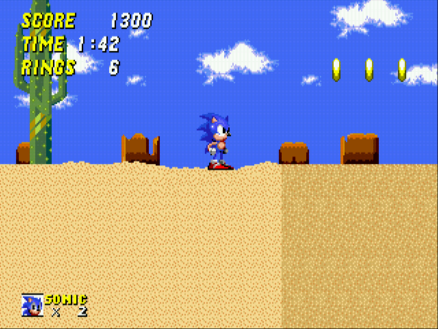 Sonic 2 - The Lost Worlds - Quicksand: 2 - User Screenshot