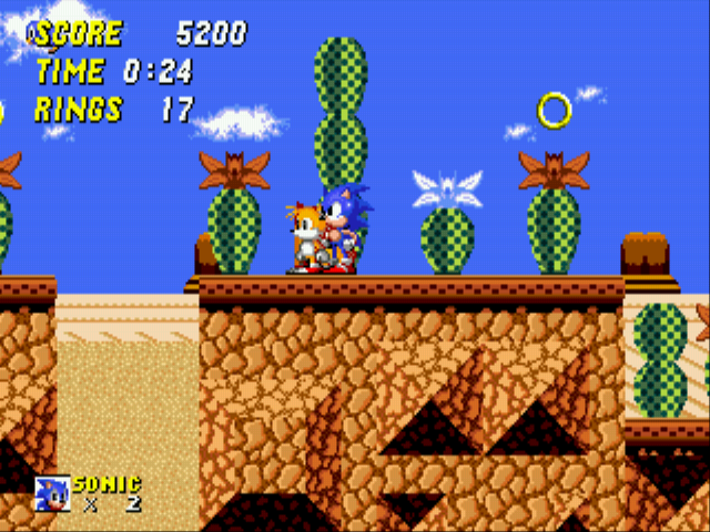 Sonic 2 - The Lost Worlds - Quicksand: 8 - User Screenshot
